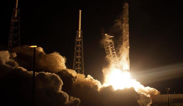 SpaceX'ten Uluslararası Uzay İstasyonu'na 'süper fareli' kargo