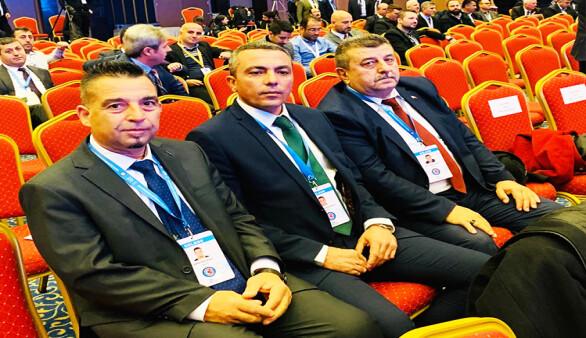 Türk-İş Genel Kuruluna KKTC'den de temsilciler katıldı