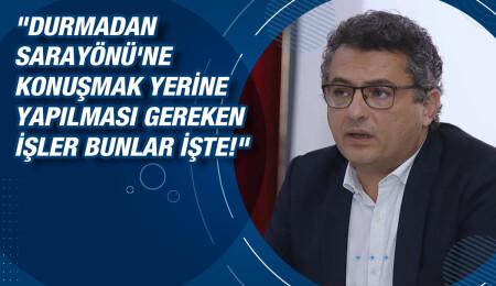 """Tufan Erhürman: """"Ne AB'nin tutumu kabul edilebilirdir ne de Kıbrıs Türk halkının hakkı olan miktarı almayı beceremeyenlerin!"""""""