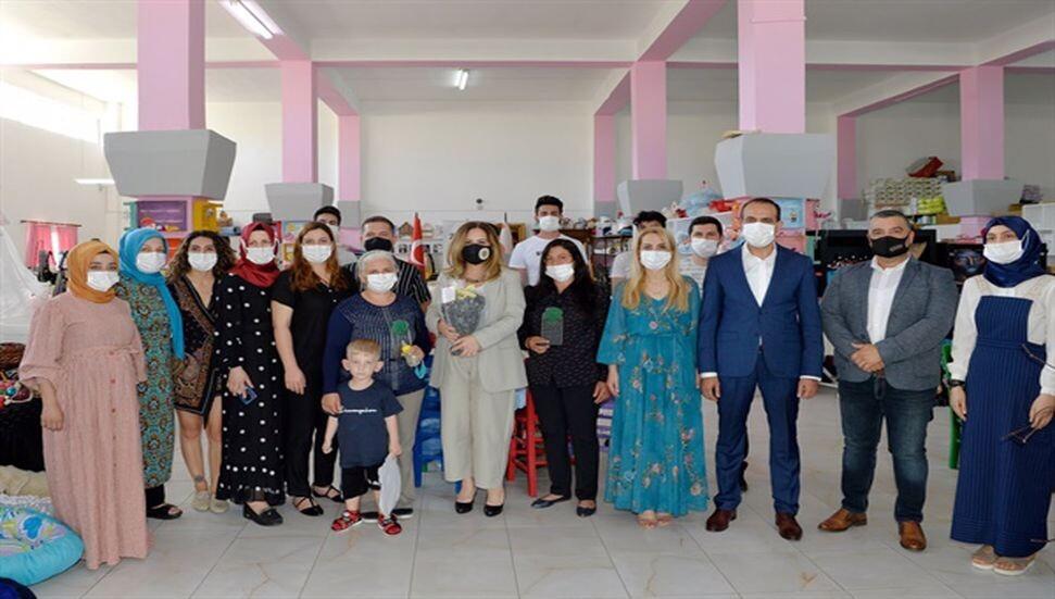 Sibel Tatar, ZAYDER'i ziyaret etti