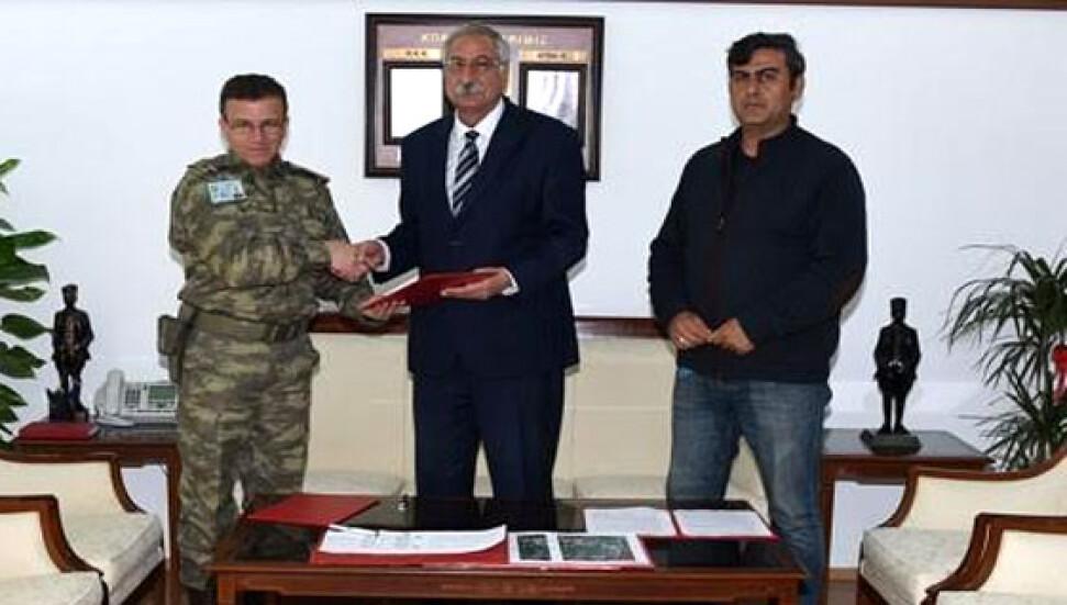 Girne Belediyesi, askeri boru hattının geçtiği güzergahı yürüyüş ve bisiklet yolu olarak değerlendiriyor