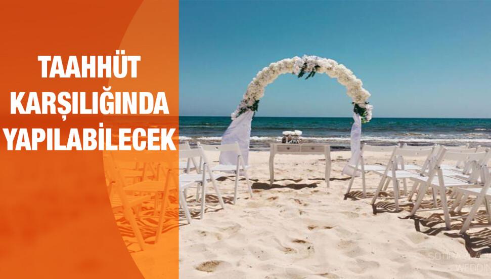 27 Mayıs'tan itibaren nişan ve düğünler yapılabilecek...
