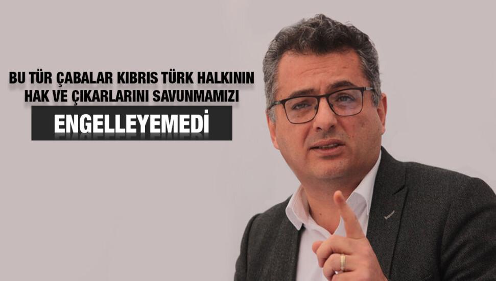 """Tufan Erhürman: """"Tatar, taş devrinden kalma yaklaşımları yeniden hakim kılmaya çalışıyor"""""""