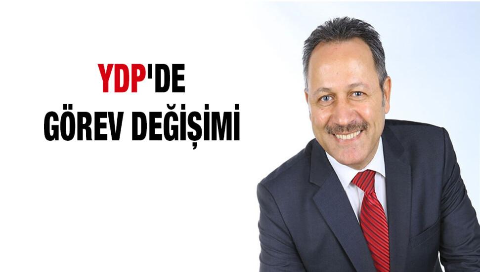 YDP'nin yeni Genel Sekreteri Enver Öztürk oldu