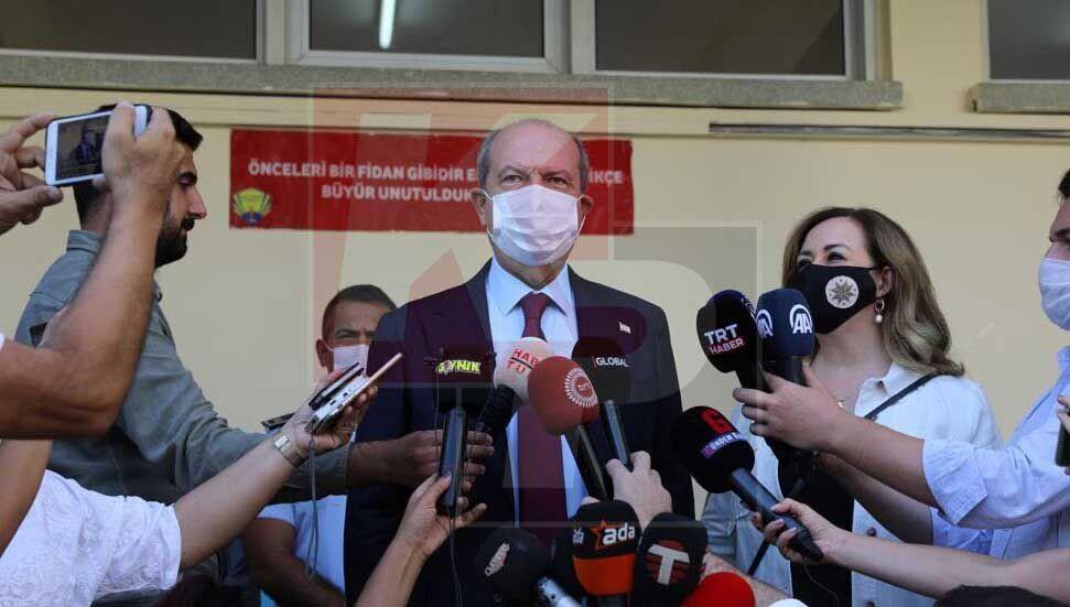 """Ersin Tatar da oyunu kullandı: """"Katılım çok olmalı, bunun erken seçimi yok"""""""
