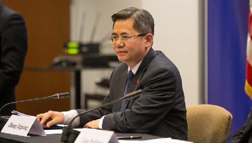 Çin'in Londra Büyükelçisi'ne parlamento yasağı