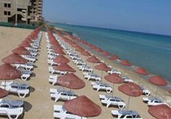 """3 örgüt, Derinya Plajı'nın sadece KKTC ve TC vatandaşlarına açılmasını eleştirdi: """"Irkçı plaj"""""""