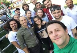 """DAÜ Sinema Kulübü'nden """"Müstakbel Damat"""" setine ziyaret"""