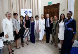 Akdeniz Kadın Uzlaşımcılar Ağı'nın Kıbrıs şubesi Lefkoşa'da hayata geçirildi