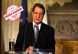 Anastasiadis aktif politikadan ayrılacağını ilan etti...