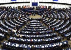Avrupa Parlamentosu'nda kayıplarla ilgili belgesel gösterimi