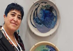 Ayhatun Ateşin, eserleriyle Artist/İstanbul Sanat Fuarı'na katıldı