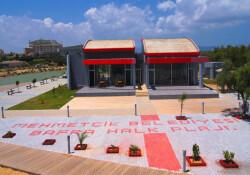 """'Bafra Halk Plajı özelleşiyor' iddialarına, Mehmetçik Belediyesi'nden yanıt: """"Tamamen yalan"""""""