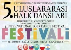 Beyarmudu'nda Uluslararası Halk Dansları Festivali yarın akşam başlıyor