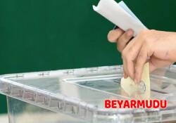 Beyarmudu'nda seçim sonuçları
