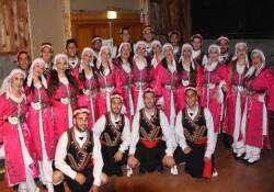 Beyarmudu Belediyesi Halk Dansları Topluluğu Mudanya yolcusu