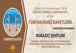 Boğaziçi Direnişi ve Şehitler Anıtı yarın açılıyor