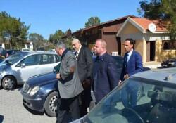 İçişleri Bakanı Kutlu Evren'den Büyükkonuk'a ziyaret