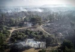Çanakkale'deki yangın 12 saatte kontrol altına alınabildi