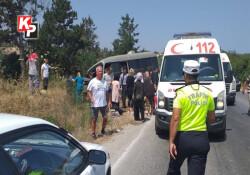 Çatalköy - Esentepe yolunda minibüs ile kamyon çarpıştı: 1 ölü, 1 ağır yaralı