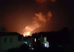 Çatalköy'deki yangın: Alevler söndü, havadan durum tespiti yapılıyor