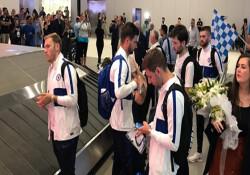 Chelsea Süper Kupa Finali için İstanbul'da