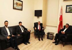 CHP Başkan Yardımcısı Çeviköz CTP'yi ziyaret etti