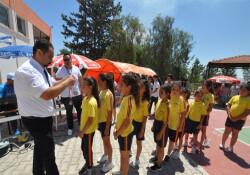 Değirmenlik İlkokulu Voleybol Şenliği'nin 4'üncüsü düzenlendi