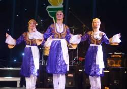 Dikmen 11 Meşale Festivali'nde halk dansları, Fitnes şov ve Nafiz Dölek konseri
