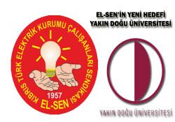 EL-SEN'in affı yok! Sıra Yakın Doğu Üniversitesi'nde!
