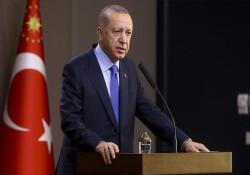 """Erdoğan: """"Türkiye'ye Kıbrıs'taki gelişmelerle ilgili gözdağı vermeye kalkmayın"""""""
