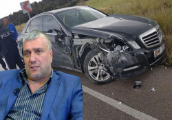 Esentepe Belediye Başkanı Erdoğan trafik kazası geçirdi!