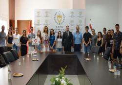 Final Üniversitesi yaz okulu öğrencilerinden Milli Eğitim ve Kültür Bakanlığı'na ziyaret