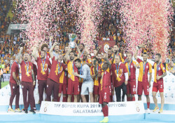 Galatasaray, 6. kez TFF Süper Kupa'nın sahibi oldu