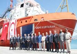 """""""Gemi Kurtaran"""" römorkörünün KKTC'de görevlendirilmesi töreni gerçekleştirildi"""