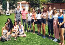"""""""Girne'de genç olmak"""" ekibi, Taşkent Doğa Parkı'nda yaban hayatı tanıdı"""