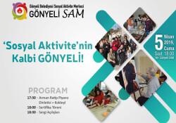 Gönyeli Sosyal Aktivite Merkezi'nde sergi açılışları öncesi etkinlikler düzenleniyor