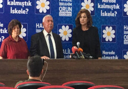 Halil İbrahim Orun, DP desteğiyle İskele'den bağımsız aday...