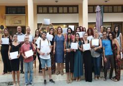 İki toplumlu Yunanca ve Türkçe Kursları ile Çeviri Atölyeleri tamamlandı