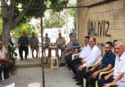 """Karavezirler ve ekibi zeytin diyarı Yeniceköy'de: """"Daha üretken bir belde yaratacağız"""""""