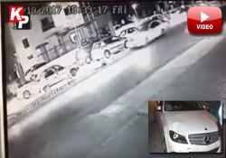1 kişinin öldüğü, 2 kişinin yaralandığı kazanın görüntüleri ortaya çıktı! Cinayet gibi kaza!