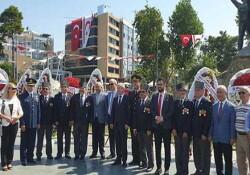 Kıbrıs Barış Harekâtı'nın 45'inci yıl dönümü etkinlikleri çerçevesinde Antalya'da törenler düzenlendi