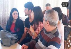 """Kıbrıs İlim Üniversitesi """"Yaşlılar Haftası"""" nedeniyle Lapta Huzurevi'ne ziyaret gerçekleştirdi"""