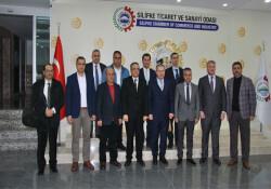 KTSO heyeti Adana, Mersin - Tarsus ve Silifke'de organize sanayi bölgelerini inceledi