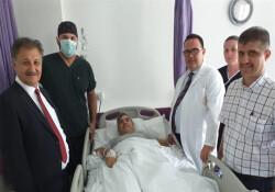 """Lefkoşa Devlet Hastanesi'nde ikinci kez """"ağrı pili"""" operasyonu yapıldı"""