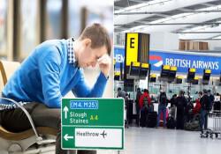 Londra Havaalanı'nda çalışanlar grevde: Birçok uçuş iptal