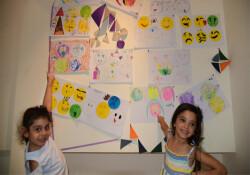 """LTB-EMAA """"Çocuk Atölyesi"""" kurs sergisi açıldı"""