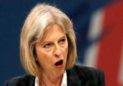 İngiltere Başbakanı Theresa May de 'vur' emri verdi!