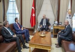 Oğuz, AK Parti Genel Başkanvekili Kurtulmuş'u ziyaret etti