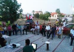DP Ulusal Güçler Serdarlı Belediye Başkan adayı Özel Pınardan'dan halk toplantısı
